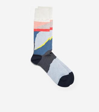 Cole Haan Desert Landscape Crew Socks