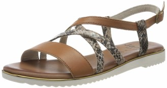 Jana 100% comfort Women's 8-8-28115-24 Ankle Strap Sandals