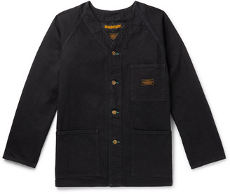 Neighborhood Collarless Denim Overshirt
