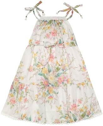 Zimmermann Kids Exclusive to Mytheresa a Floral cotton dress