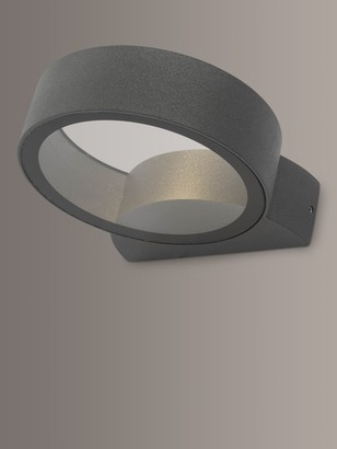 Dar Reon LED Outdoor Wall Light, Anthracite