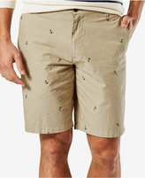 Dockers Anchor Print Perfect Short, Classic Fit