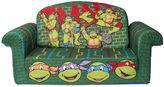 "Spin Master Toys Spin MasterTM Marshmallow Nickelodeon's ""Teenage Mutant Ninja Turtles"" Retro Flip-Open Sofa"
