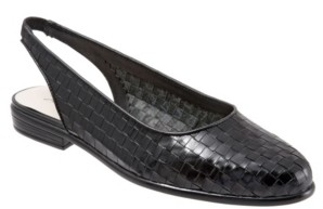 Trotters Lucy Sling Back Flats Women's Shoes