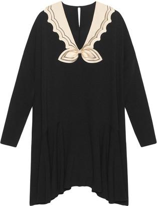 Gucci Short sablé dress