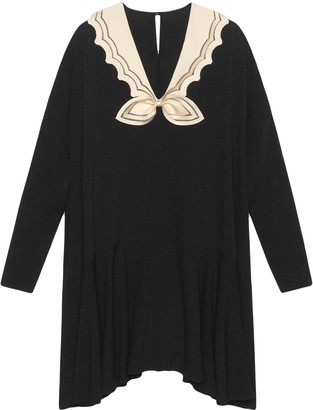 Gucci Short sable dress