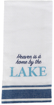 'Home by the Lake' Embroidered Dish Towel