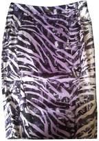 John Richmond Purple Cotton - elasthane Skirt for Women