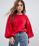 Only Baloon Sleeve Sweater