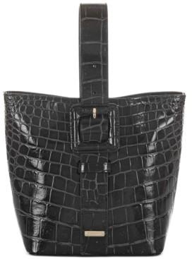 Brahmin Faith Veil Leather Bucket Bag