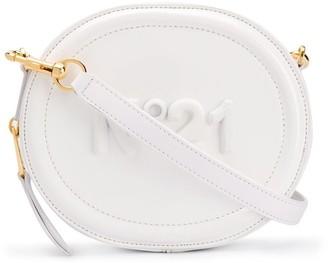 No.21 Logo-Stamped Round Crossbody Bag