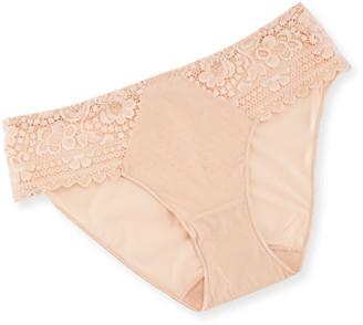 Lejaby Maison Hanae Lace-Trim Bikini Briefs