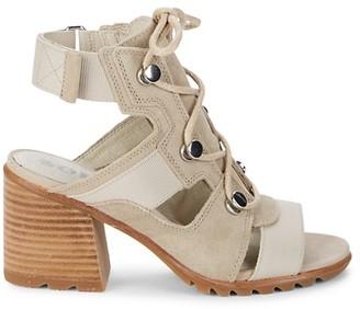 Sorel Nadia Lace-Up Sandals