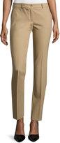Michael Kors Samantha Slim-Leg Pants, Fawn