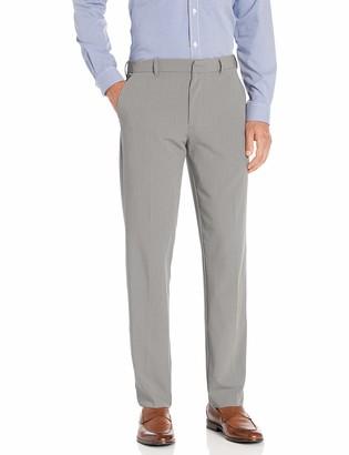 Van Heusen Men's 4-Way Stretch Temp Control Straight Fit Dress Pant