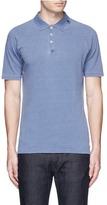 Denham Jeans 'Joey' raglan sleeve polo shirt