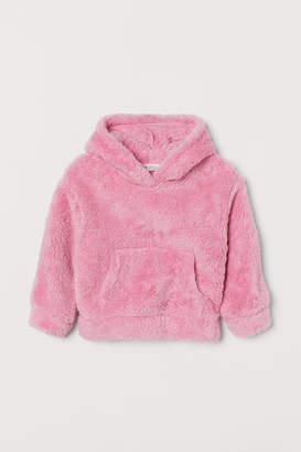 H&M Fleece Hoodie - Pink