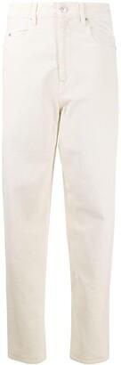 Etoile Isabel Marant High-Rise Straight-Leg Jeans