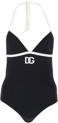Dolce & Gabbana Logo One-Piece Swimsuit