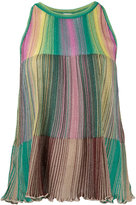 M Missoni striped tank top - women - Viscose/Metallic Fibre/Polyimide - 40