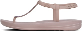 FitFlop Iqushion Splash Sparkle Back-Strap Sandals