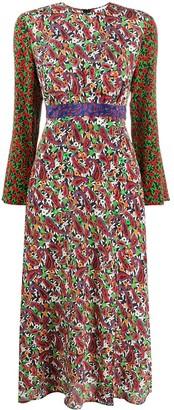 Rixo Trisha floral print dress