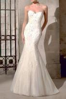 Morilee Strapless Mermaid Bridal Gown