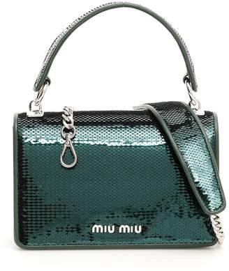 Miu Miu Sequin Mini Crossbody Bag