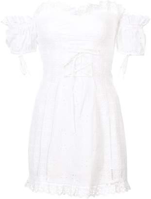 For Love & Lemons broderie anglaise dress