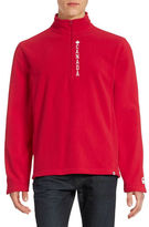 Canadian Olympic Team Collection Mens Canada Quarter-Zip Fleece Pullover