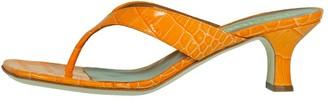 Paris Texas Moc Croco Thong Sandal