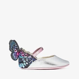 Sophia Webster Chiara Embroidery (Infant) (Silver/Blue Multi) Women's Shoes
