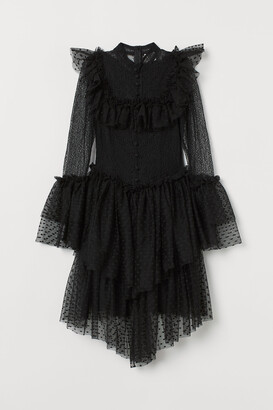 H&M Tulle-skirt lace dress
