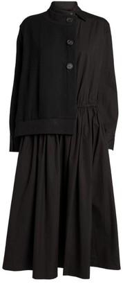 Yohji Yamamoto Hybrid Shirt Dress
