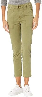 AG Jeans Caden Fatigue in Sulfur Green Haven (Sulfur Green Haven) Women's Casual Pants