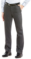 Murano Alex Modern Slim Fit Flat-Front Textured Dobby Pants