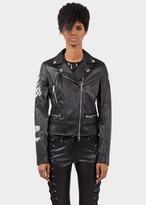 Versace ZAYNXVERSUS Eco-Leather Biker