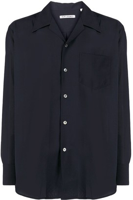 Our Legacy Notch Collar Long Sleeved Shirt