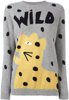 Chinti and Parker cashmere Wild leopard jumper - women - Cashmere - XS