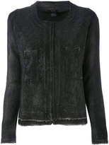 Avant Toi fitted jacket - women - Linen/Flax/Cotton/Polyamide - M