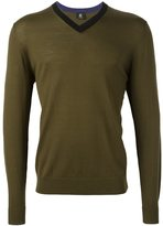 Paul Smith v-neck jumper - men - Merino - XXL