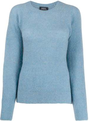 A.P.C. round-neck knit sweater