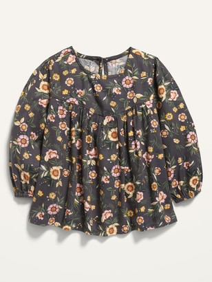 Old Navy Printed Babydoll Top for Toddler Girls