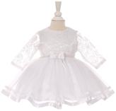 Cenedella Longsleeve Lace Dress