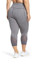 Zella Plus Size Women's 'Hatha' High Waist Crop Leggings
