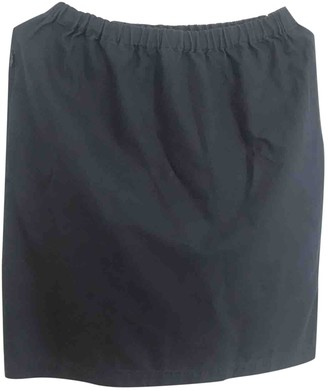 Yohji Yamamoto Y 3 By Y-3 By Navy Cotton Skirt for Women