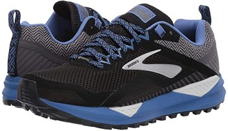 Brooks Cascadia 14 GTX (Black/Grey/Blue) Women's Running Shoes