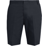 Lanvin Slim-fit cotton chino shorts