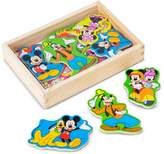 Melissa & Doug Disney Mickey Mouse Clubhouse Wooden Magnets by
