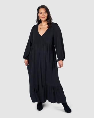 The Poetic Gypsy Night Pillars Maxi Dress